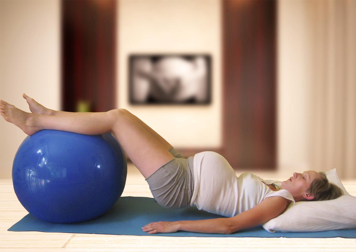 Maies Bækkenstabiliserende øvelser - Maies